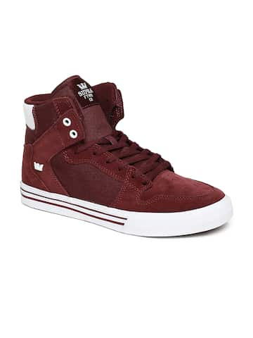 96787bd6b2c9 Maroon Casual Shoes - Buy Maroon Casual Shoes Online in India