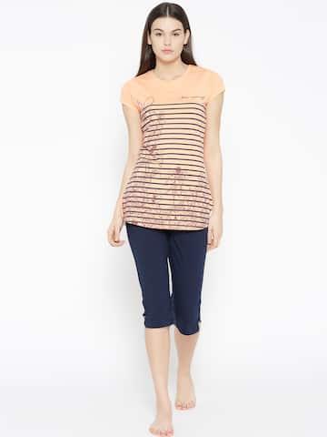 Women Loungewear   Nightwear - Buy Women Nightwear   Loungewear online -  Myntra 436de879c