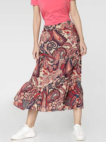 b36d37961bd Long Skirts - Buy Long Skirts Online in India