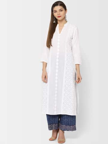 2c7d442a32 Panache India Designer White Chicken Kurta Pyjama - Buy Panache India  Designer White Chicken Kurta Pyjama Online at Low Price in India - Snapdeal