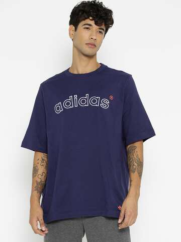 015c2ce5ed8 Adidas T-Shirts - Buy Adidas Tshirts Online in India | Myntra