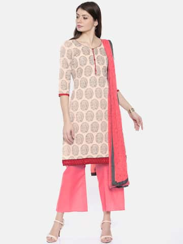 bcb499c099 Cotton Dress Material - Buy Cotton Dress Material Online in India