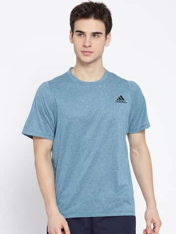 16c1e839 Sports T-shirts - Buy Mens Sports T-Shirt Online in India |Myntra