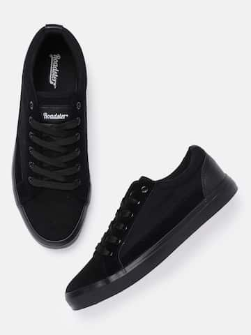 Black Casual Shoes Buy Black Casual Shoes Online in India