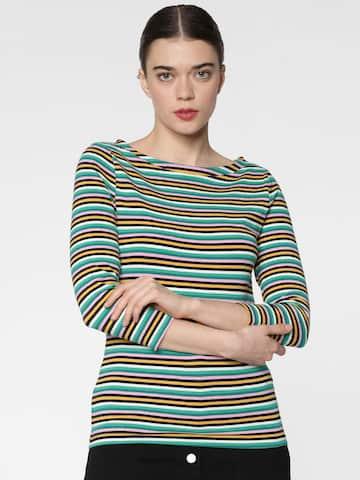 277a424205 Women Long Sleeve Tshirts - Buy Full Sleeve Tshirts for women online -  Myntra