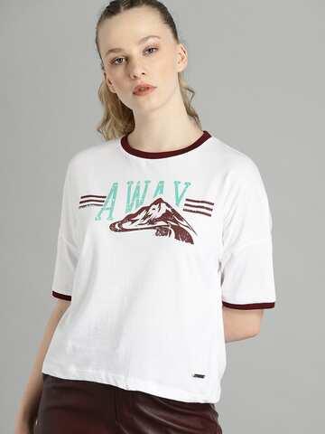 a246cbf7 T-Shirts - Buy TShirt For Men, Women & Kids Online in India | Myntra