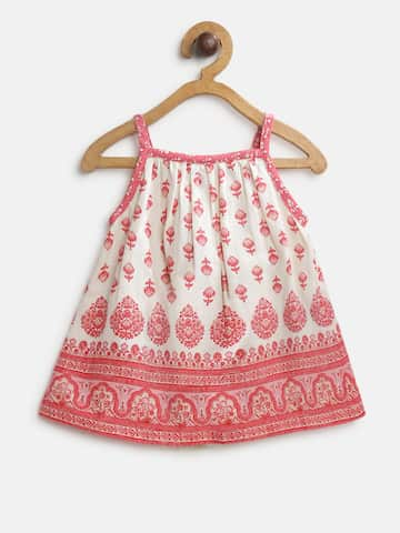 01e63002e Girls Dresses - Buy Frocks & Gowns for Girls Online | Myntra