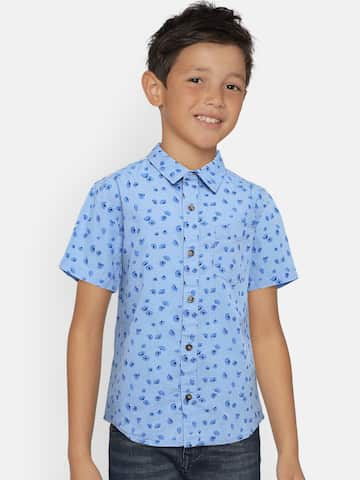 1365d86e6 Boys Shirts- Buy Shirts for Boys online in India