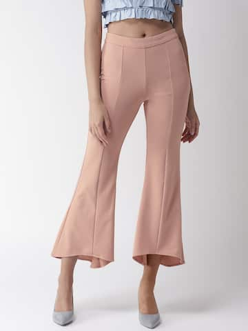 a75478171cf73f Women's Trousers - Shop Online for Ladies Pants & Trousers in India | Myntra