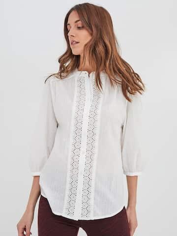 Blouse White Dress
