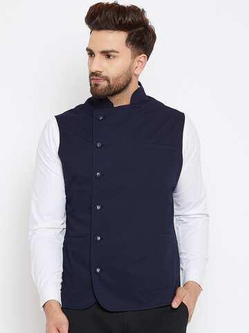 5dd66529b417 Waistcoat | Buy Waistcoats Online in India