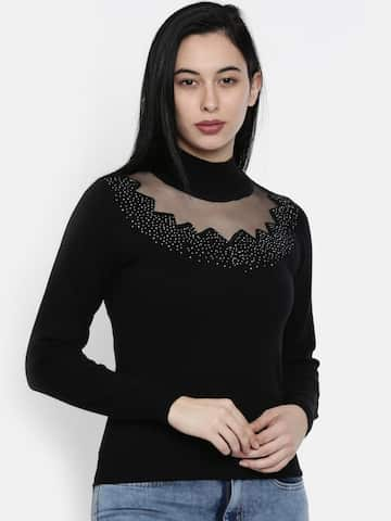 bc4964c60b9bf7 Sweaters for Women - Buy Womens Sweaters Online - Myntra