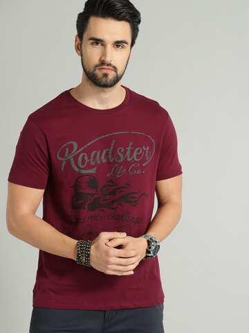 ea97cb4206 T-Shirts - Buy TShirt For Men, Women & Kids Online in India | Myntra