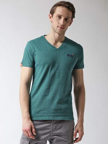 a3add68f6e8c V Neck T-shirt - Buy V Neck T-shirts Online in India   Myntra