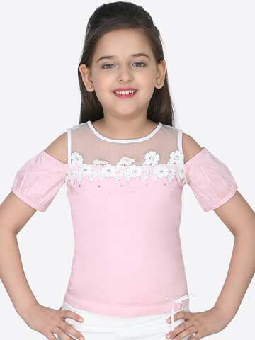 729f6a6e1f2 Girls Tops - Buy Stylish Top for Girls Online in India | Myntra
