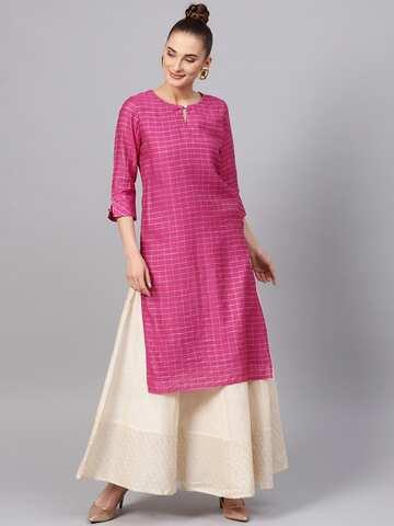 e5aa8b74f2 Jaipur Kurti - Buy Apparels From Jaipur Kurti Online   Myntra