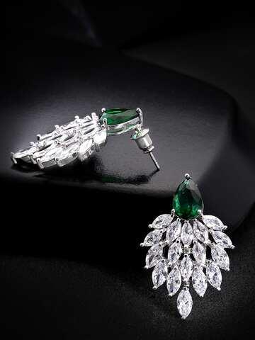 b522694233876 Green Earrings - Buy Green Earrings Online in India