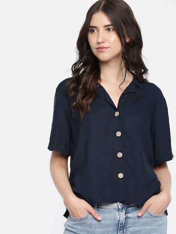 5c5c1636 Women Shirts - Buy Shirts for Women Online in India | Myntra