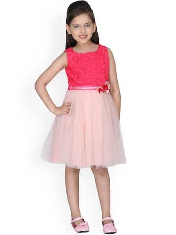 9184aa82b77ff2 Girls Dresses - Buy Frocks & Gowns for Girls Online | Myntra