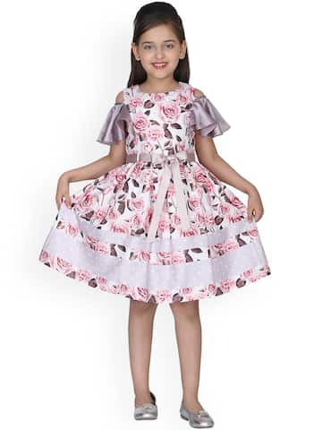 10c30b170eb19 Girls Dresses - Buy Frocks & Gowns for Girls Online | Myntra