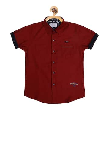 84ef37e7 Boys Shirts- Buy Shirts for Boys online in India