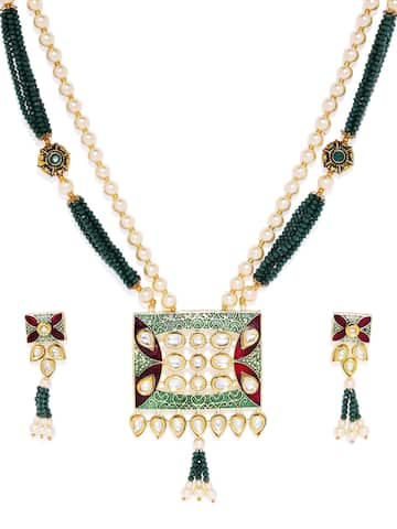 a7a90248f4a03 Jewellery Set - Buy Jewellery Sets Online in India | Myntra