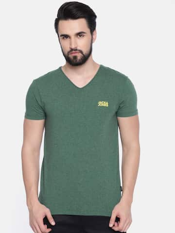 a98734523d8a V Neck T-shirt - Buy V Neck T-shirts Online in India | Myntra
