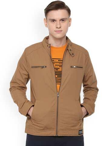 d24297f5c1752 Jackets - Buy Leather Jackets, Denim Jackets for Men & Women - Myntra
