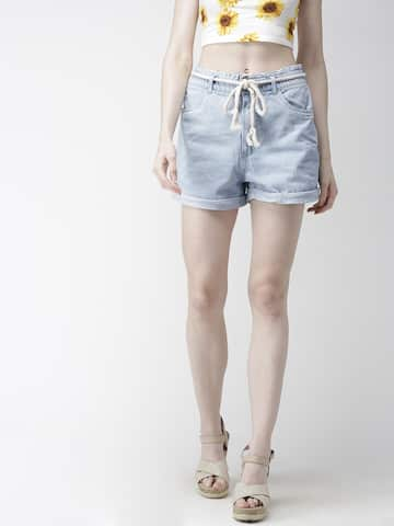 2b124a0c06 Women's Shorts - Buy Shorts for Women Online in India