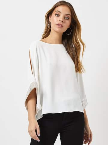 c921a7a93b6f Ladies Tops - Buy Tops & T-shirts for Women Online | Myntra
