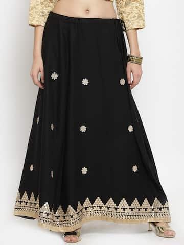 eabb19952200 Skirts for Women - Buy Short, Mini & Long Skirts Online - Myntra