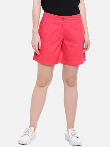 498cab107 Red Shorts - Buy Red Shorts Online in India