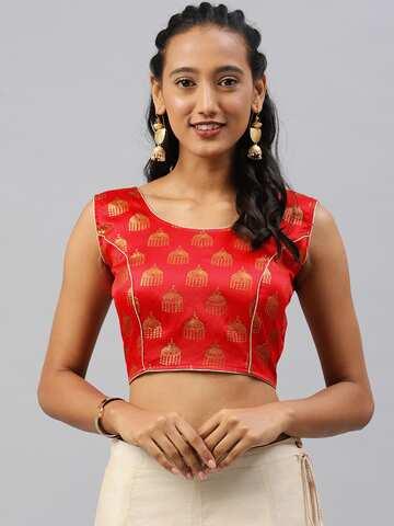 01fd78c59a2af1 Blouses - Shop for Designer Blouse Online in India | Myntra