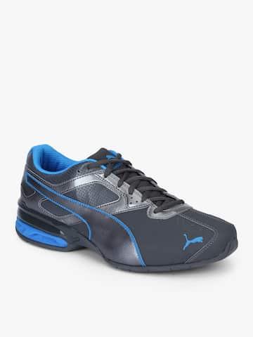 01bcc102e8c Tazon 6 Fm Asphalt-Electric Blue Lemonad Grey Sneakers. image. Puma
