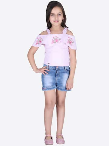 341580fb1737f Girls Tops - Buy Stylish Top for Girls Online in India
