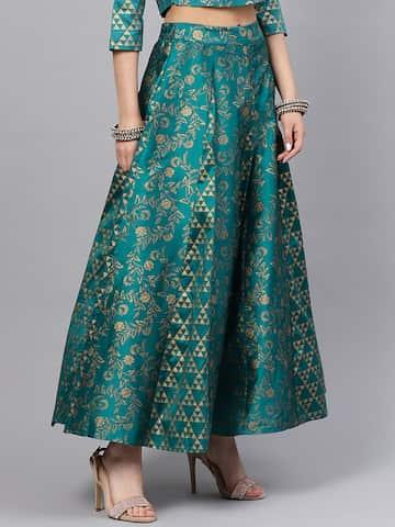 8d2bdb90bcc165 Skirts for Women - Buy Short, Mini & Long Skirts Online - Myntra