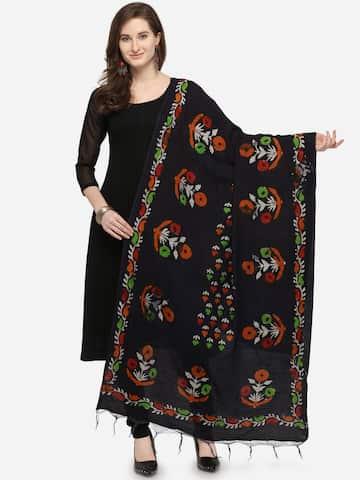 62b5708d9 Black Dupatta - Buy Black Dupatta online in India