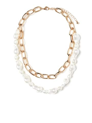 d253e2e7215f3 Necklace - Buy Necklace for men, women & girls Online   Myntra