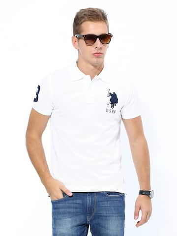 f98fc19992d Puma White Men Tshirt Polo Tshirt Tshirts - Buy Puma White Men ...