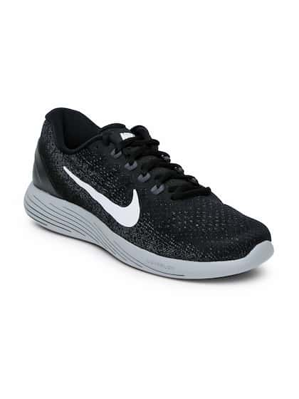 Nike Men Black LUNARGLIDE 9 Running Shoes