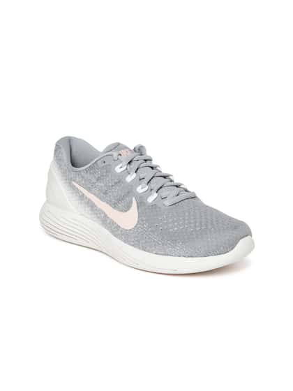 Nike Men Mauve & Off-White LUNARGLIDE 9 Running Shoes