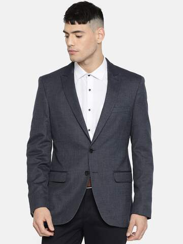 4d70b925db5 Myntra sale   Flat 70% OFF on Raymonds Top Selling Blazers For Men ...
