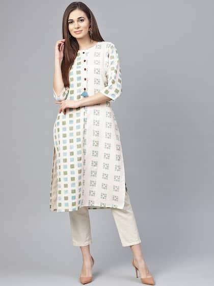 2b843fe428 Ikat Kurtas - Buy Ikat Kurtas online in India
