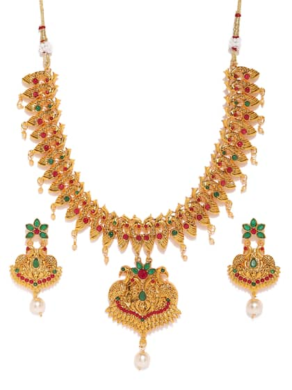 1af5d6bd1 Jewellery Set - Buy Jewellery Sets Online in India | Myntra