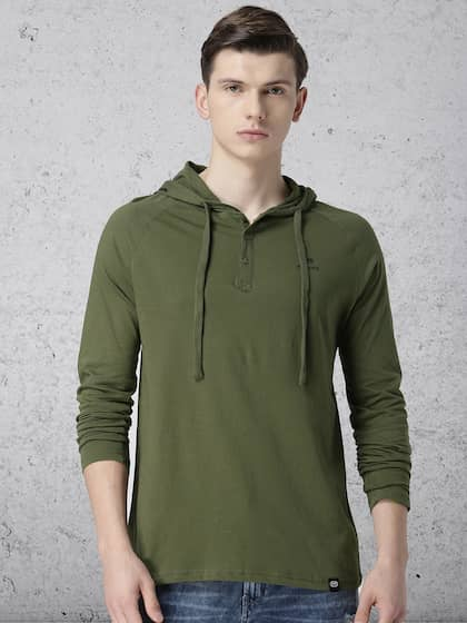 a99ef78fbc Hooded Tshirts - Buy Hooded Tshirts online in India