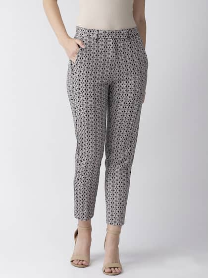 d44e8c7869 Women's Trousers - Shop Online for Ladies Pants & Trousers in India ...