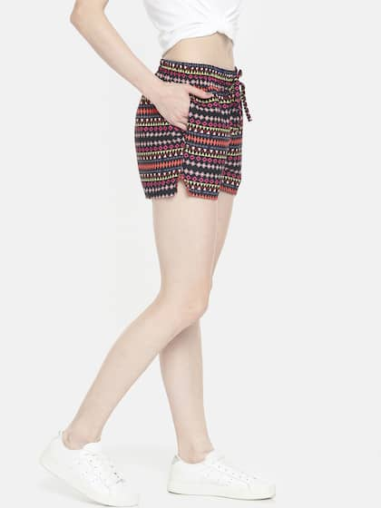 9ced1fe2c47a Women's Shorts - Buy Shorts for Women Online in India