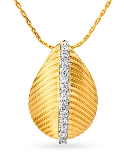 Tanishq Diamond Jewellery Pendant - Buy Tanishq Diamond