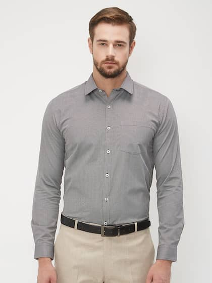 10553349 Formal Shirts for Men - Buy Men's Formal Shirts Online | Myntra