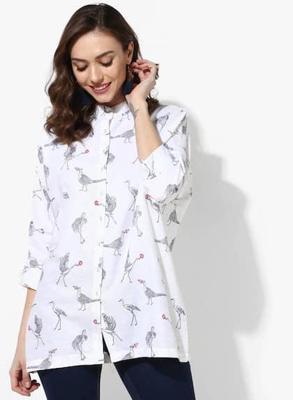 17968cf450373 Women Shirts - Buy Shirts for Women Online in India | Myntra